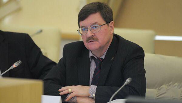 Профессор академии военных наук РФ Владимир Козин  - Sputnik Армения