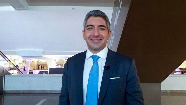 Председатель финтек-ассоциации Гонконга, ведущий эксперт финтека по Азии в компании PwC Генри Арсланян - Sputnik Армения