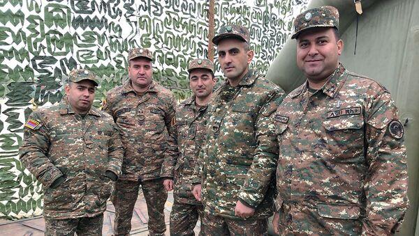 Армянские военные о маневрах Эшелон - Sputnik Армения