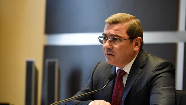 Пресс-конференция председателя Комитета государственных доходов Армении Давида Ананяна (16 октября 2019). Еревaн - Sputnik Արմենիա