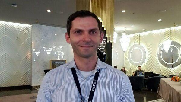 Профессор физики и астрономии Алабамского Университета (США) Сергей Глейзер - Sputnik Արմենիա
