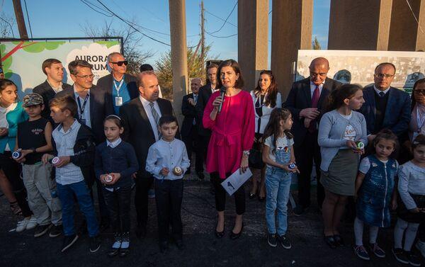 Церемония презентации парка Дружбы (17 октября 2019). Гюмри - Sputnik Армения