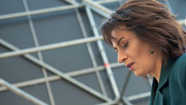 Анна Акопян выступает на фестивале «Ararat Challenge» - Sputnik Արմենիա