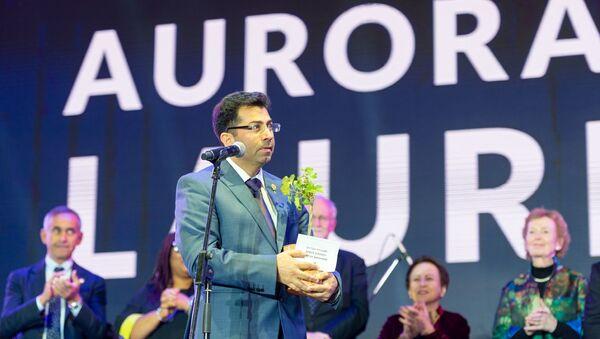 Лауреат премии «Аврора»–2019 директор организации Luftbrücke Irak Мирза Диннайи - Sputnik Армения