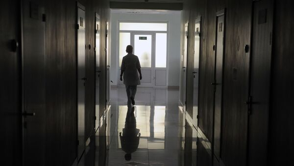 Больничный коридор, архивное фото - Sputnik Արմենիա