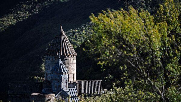 Монастырь Татев в Сюникской области Армении. - Sputnik Արմենիա