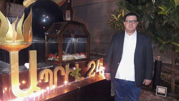 Пресс-секретарь прихода Камышлы Армянской апостольской церкви дьякон Акоп Парсумян - Sputnik Արմենիա