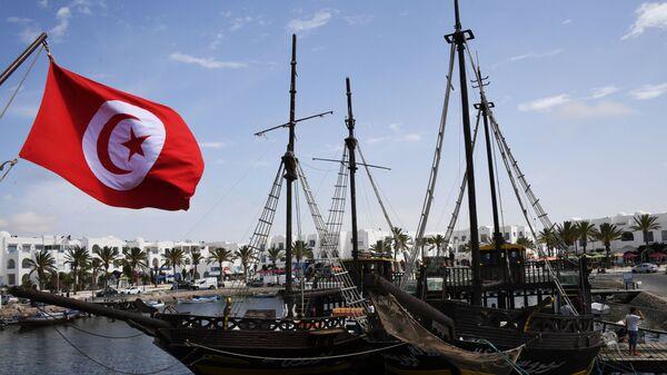 Корабли в бухте острова Джерба в Тунисе. - Sputnik Армения