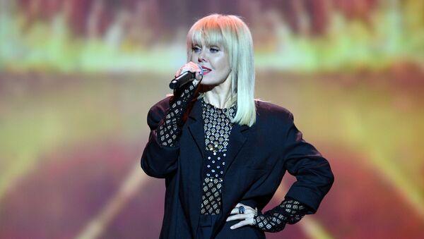Певица Валерия выступает на концерте в честь Дня учителя  - Sputnik Արմենիա
