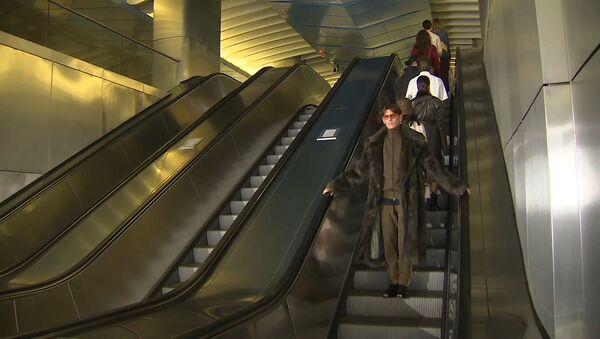 Высокая мода спустилась в метро - Sputnik Արմենիա