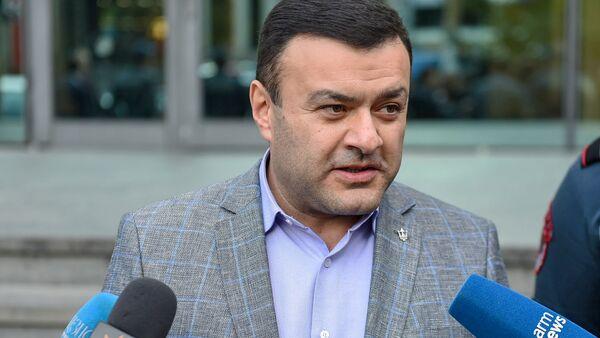 Адвокат Ерванд Варосян ответил на вопросы журналистов (23 октября 2019). Ереван - Sputnik Արմենիա