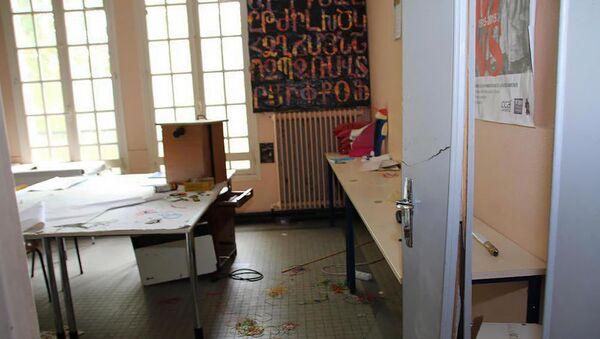 Нападение на армянскую гимназию Самюэль Мурат во Франции - Sputnik Արմենիա