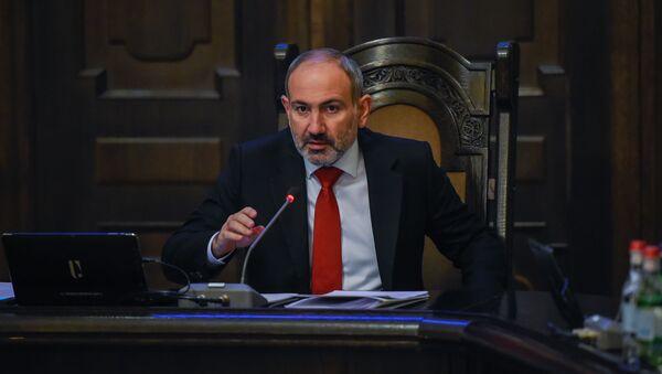 Премьер-министр Никол Пашинян на заседании правительства Армении (24 октября 2019). Еревaн - Sputnik Արմենիա