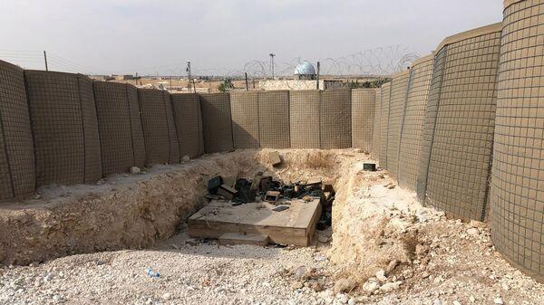 Брошенная военная база США на северо-востоке Сирии - Sputnik Армения