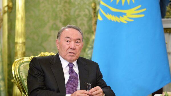 Президент Казахстана Нурсултан Назарбаев  - Sputnik Արմենիա