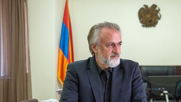 Председатель комитета по градостроительству Армении Ваагн Вермишян - Sputnik Армения