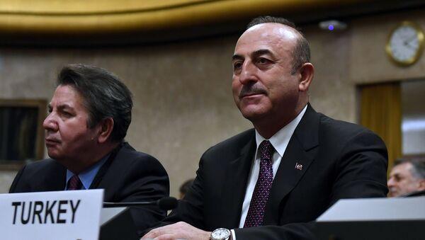Министр иностранных дел Турции Мевлют Чавушоглу  - Sputnik Արմենիա
