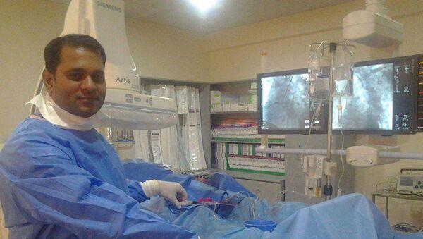 Ару Тамба, индийский кардиолог - Sputnik Արմենիա