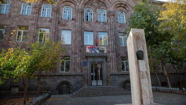 Ереванская основная школа 53 имени Агаси Ханджяна - Sputnik Արմենիա