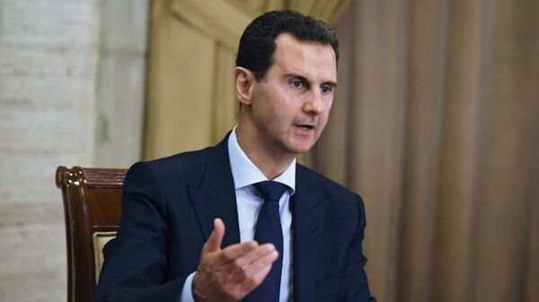 Президент Сирийской арабской республики Башар Асад  - Sputnik Արմենիա