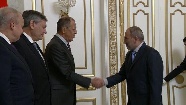 Визит министра иностранных дел России Сергея Лаврова в Ереван – ключевые моменты - Sputnik Армения
