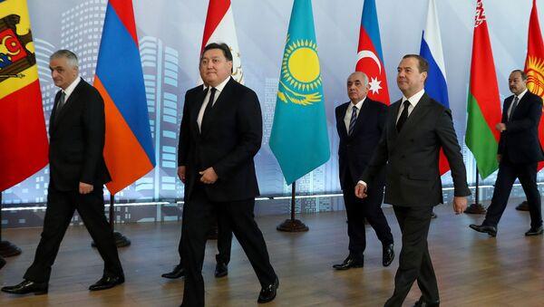 Премьер-министр РФ Д. Медведев принял участие в заседаниях Совета глав правительств СНГ и Евразийского межправительственного совета - Sputnik Армения