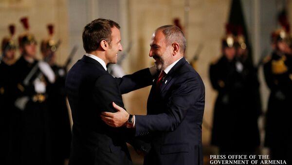 Премьер-министр Армении Никол Пашинян посетил с рабочим визитом Францию (11 ноября 2019). Париж - Sputnik Արմենիա