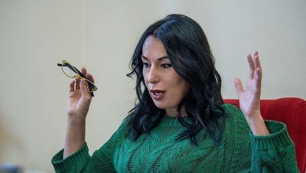 Наира Зограбян на интервью агенству Sputnik Армения - Sputnik Армения