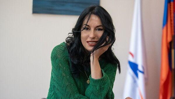 Наира Зограбян на интервью агенству Sputnik Армения - Sputnik Արմենիա