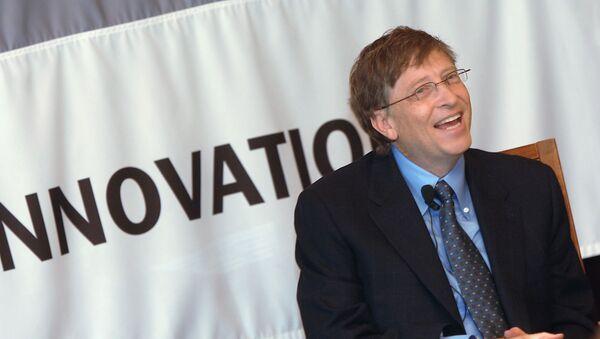 Председатель правления корпорации Microsoft Билл Гейтс в гостинице Националь. - Sputnik Армения