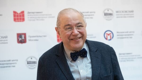 Пресс-конференция Евгения Петросяна в преддверии концерта (21 ноября 2019). Ереван - Sputnik Армения