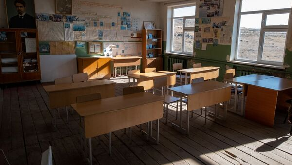 Средняя школа села Зовасар Арагацотнской области Армении - Sputnik Армения