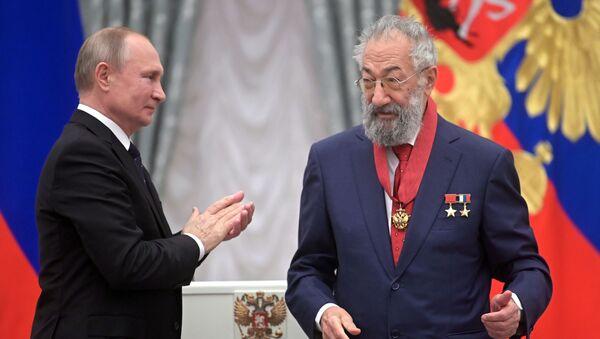 Церемония вручения государственных наград президентом РФ В. Путиным в Кремле - Sputnik Արմենիա
