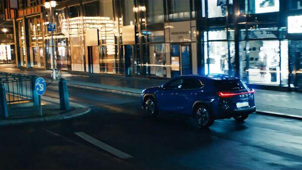 Кадр из рекламного ролика нового электромобиля от Lexus - Sputnik Արմենիա