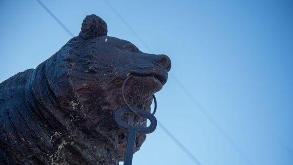 Статуя медведя в Каджаране - Sputnik Արմենիա