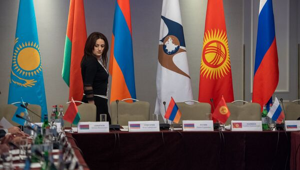 Совместное заседание контрольных палат стран Евразийского союза (28 ноября 2019). Еревaн - Sputnik Армения
