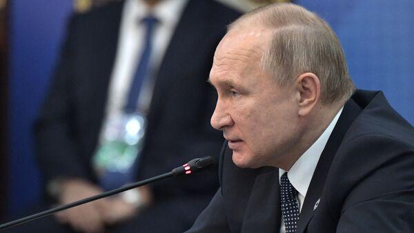 Рабочий визит президента РФ В. Путина в Киргизию - Sputnik Армения
