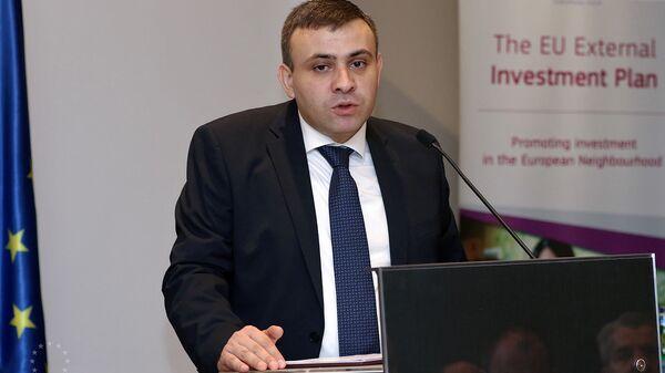 Замминистра экономики Варос Симонян  - Sputnik Армения
