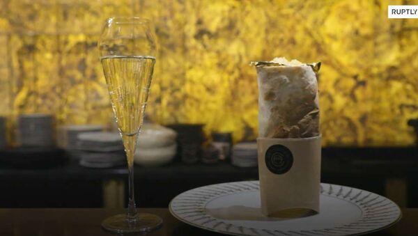 В ресторане в Санкт-Петербурге подают шаверму с золотом - Sputnik Արմենիա