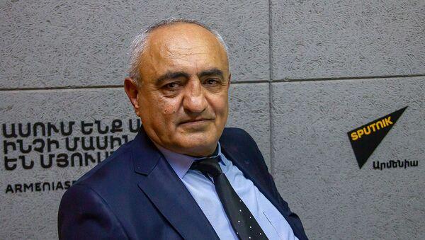 Председатель общественной организации Фермерское движение Саркис Седракян  - Sputnik Արմենիա