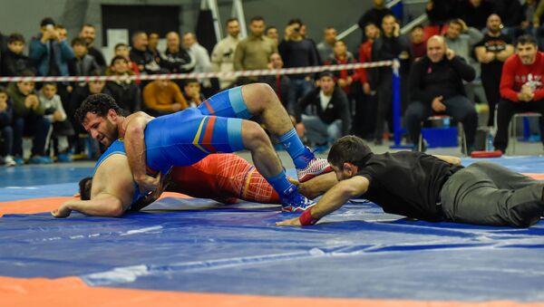 Чемпионат Армении по греко-римской борьбе - Sputnik Армения