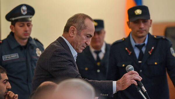 Роберт Кочарян на судебном заседании (6 декабря 2019). Еревaн - Sputnik Արմենիա