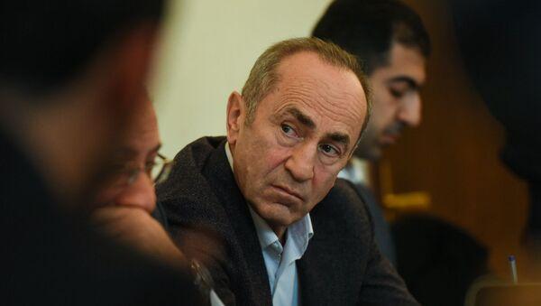 Роберт Кочарян на судебном заседании (6 декабря 2019). Еревaн - Sputnik Армения