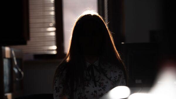 Жертва домашнего насилия Ани - Sputnik Армения