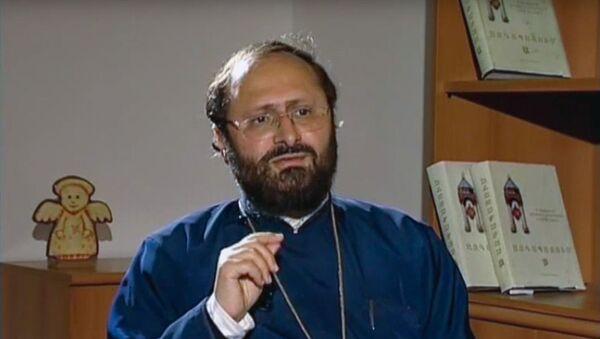 Епископ Саак Машалян  - Sputnik Армения