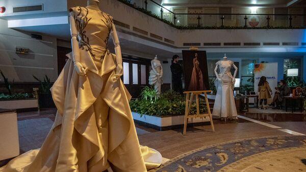 Показ коллекции Весна-Лето 2020 дизайнера Лианы Саркисян (13 декабря 2019). Еревaн - Sputnik Արմենիա