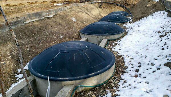 Биогазовая установка в селе Памбак, Гегаркуник - Sputnik Արմենիա
