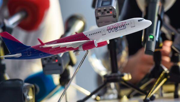 Совместная пресс-конференция бюджетной авиакомпании Wizz Air, компании «Международные аэропорты Армении» и Комитета гражданской авиации (16 декабря 2019). Еревaн - Sputnik Армения