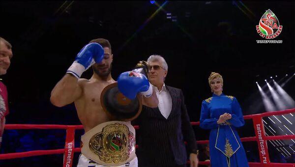 Международный турнир боев по правилам TNA между Жорой Акопяном и Ивано Кондратьевым - Sputnik Армения