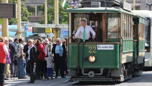 Старинный трамвай в Граце, Австрия - Sputnik Армения